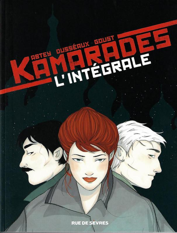 Couverture de Kamarades -INT- L'intégrale