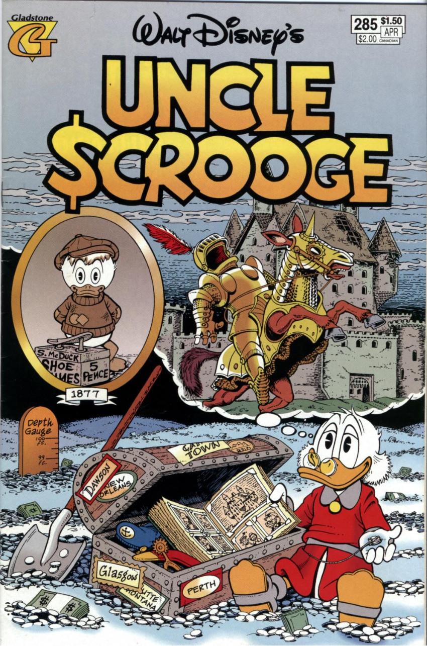 Couverture de Uncle $crooge (5) (Gladstone - 1993) -285- Issue # 285
