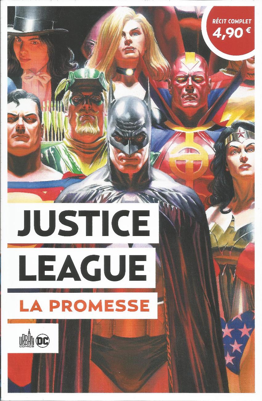 Couverture de Le meilleur de DC Comics -6- Justice League : La promesse