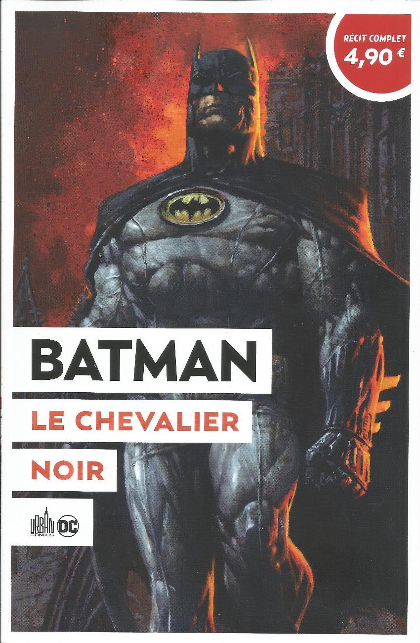 Couverture de Le meilleur de DC Comics -9- Batman : Le chevalier noir