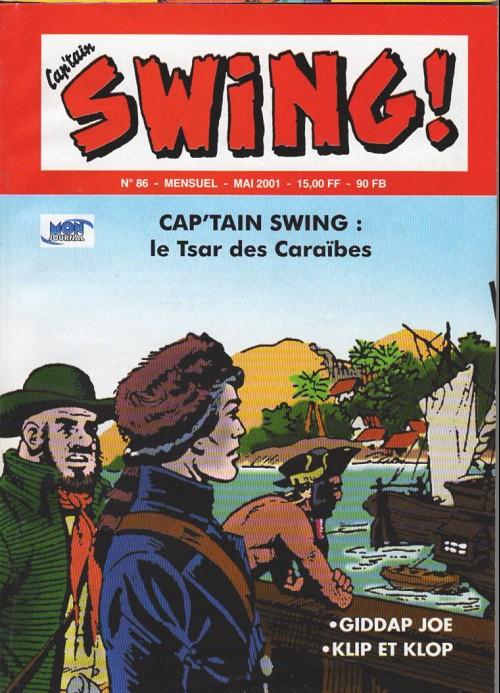Couverture de Capt'ain Swing! (2e série - Mon Journal) -86- Le Tsar des Caraïbes