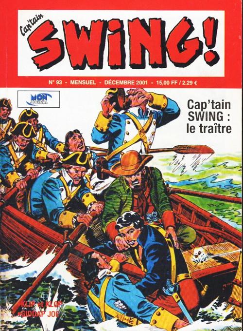 Couverture de Capt'ain Swing! (2e série - Mon Journal) -93- Le traître
