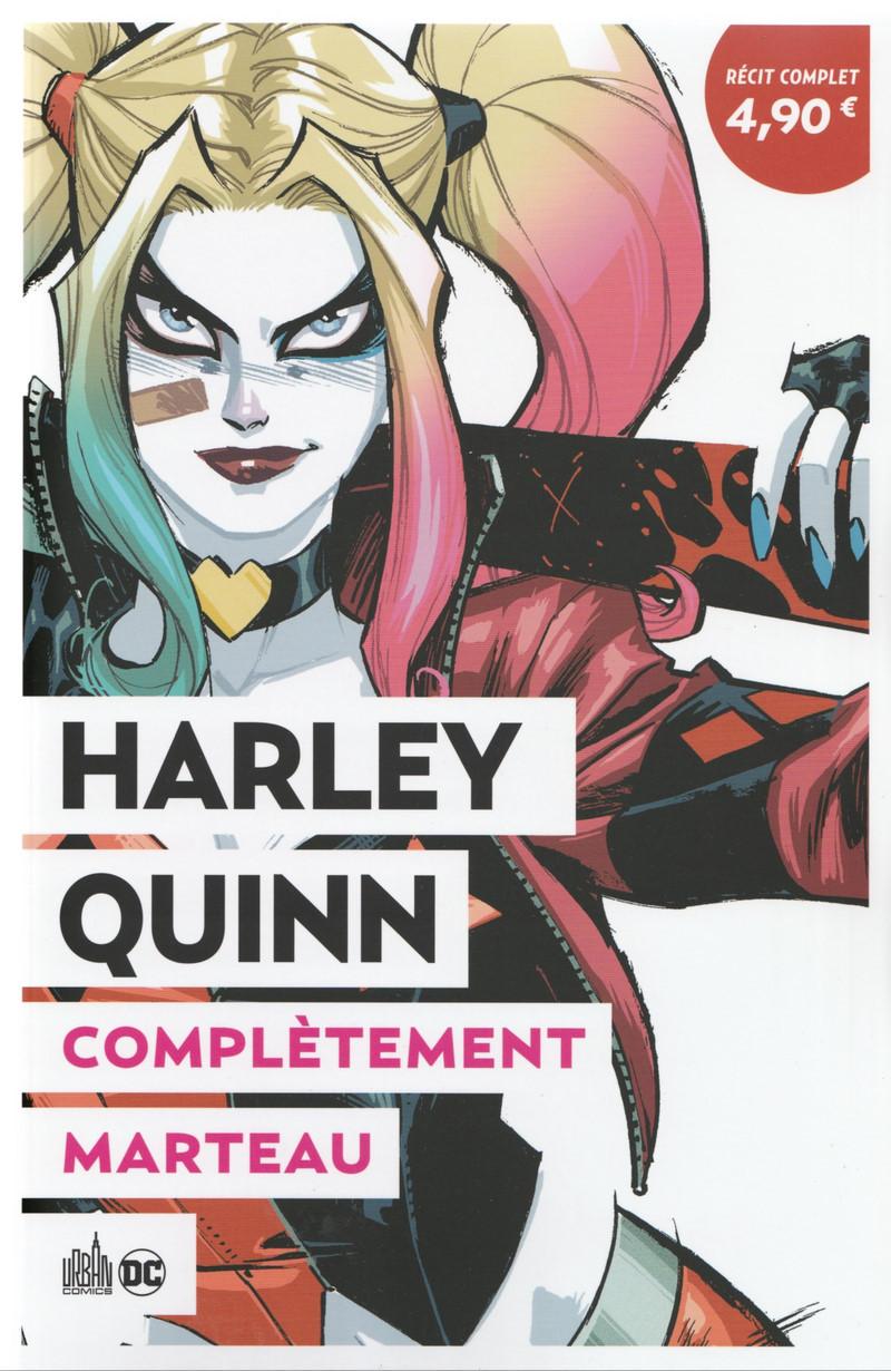 Couverture de Le meilleur de DC Comics -3- Harley Quinn : Complètement marteau