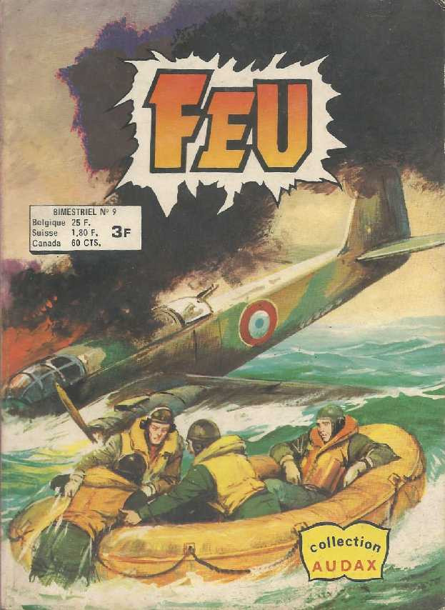 Couverture de Feu -9- Hurricane en furie