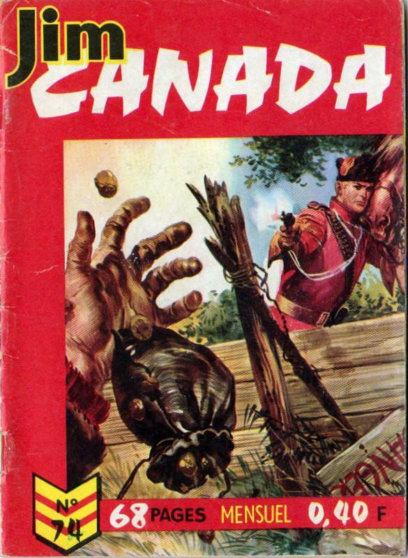 Couverture de Jim Canada -74- Un prix d'ami