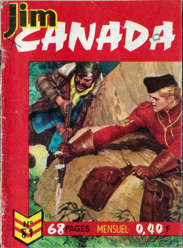 Couverture de Jim Canada -81- Le respect du Droit