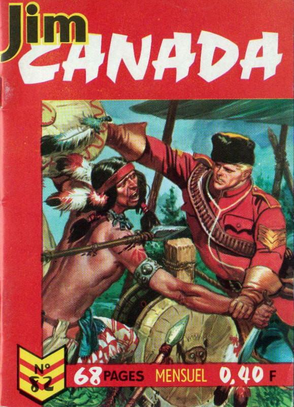 Couverture de Jim Canada -82- Question d'honneur