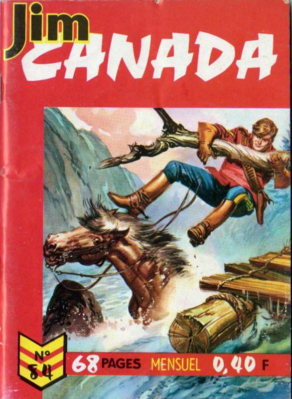 Couverture de Jim Canada -84- Le fugitif