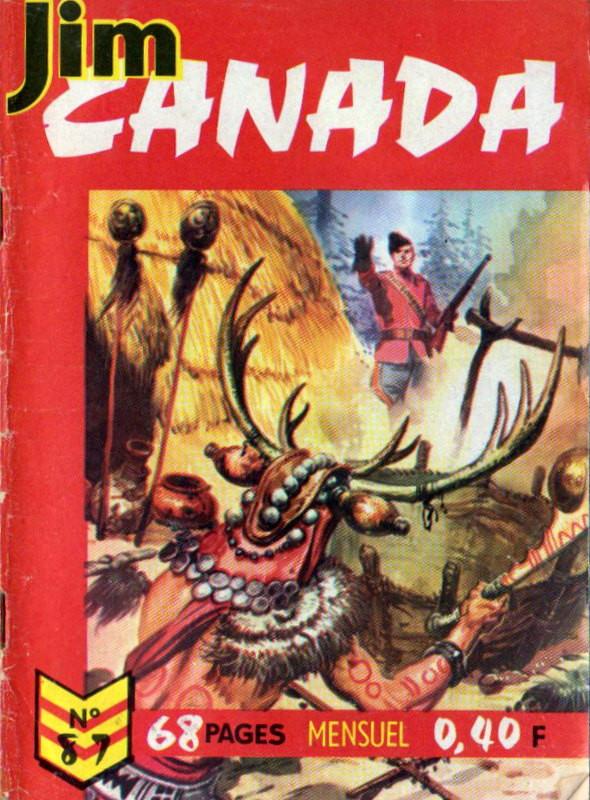 Couverture de Jim Canada -87- Trafic dangereux