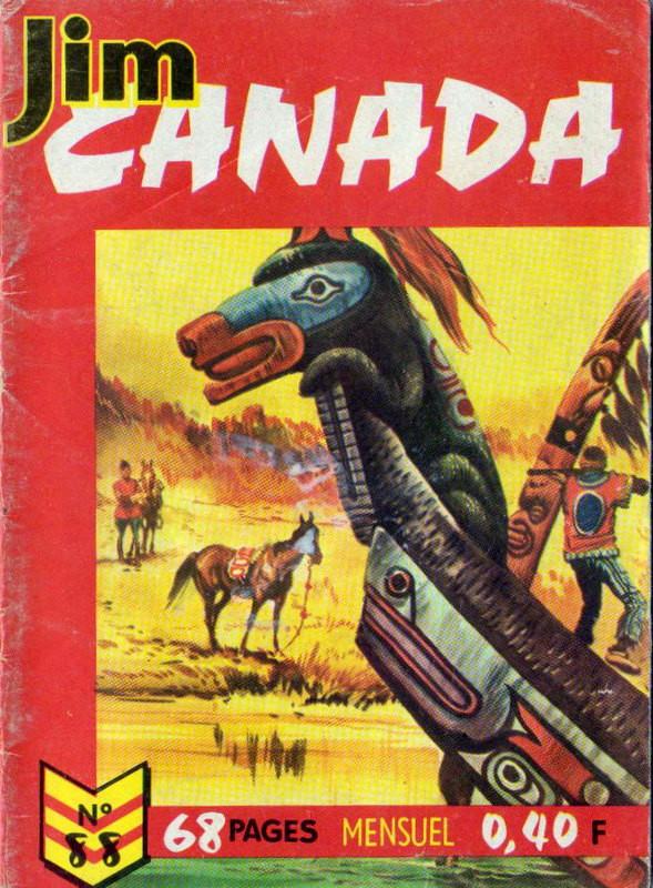 Couverture de Jim Canada -88- Le lac des bois