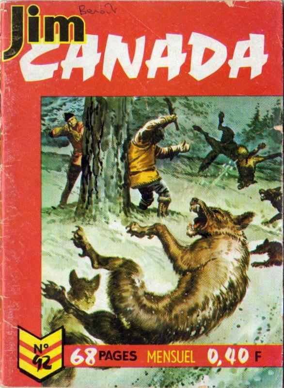 Couverture de Jim Canada -92- La pépite