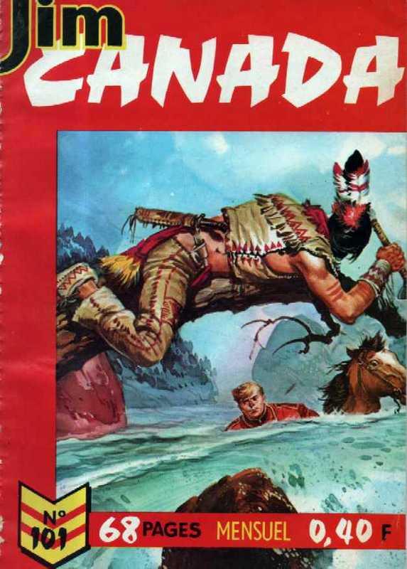 Couverture de Jim Canada -101- La falaise de West Side