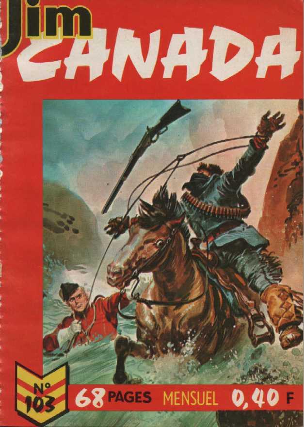 Couverture de Jim Canada -103- Les maîtres chanteurs