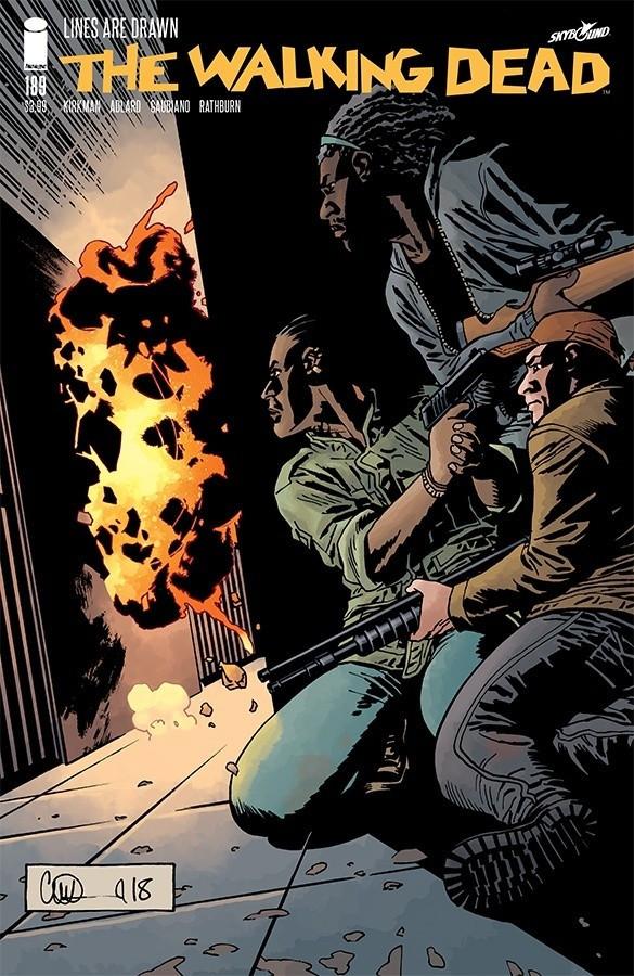 Couverture de Walking Dead (The) (2003) -189- Lines Are Drawn