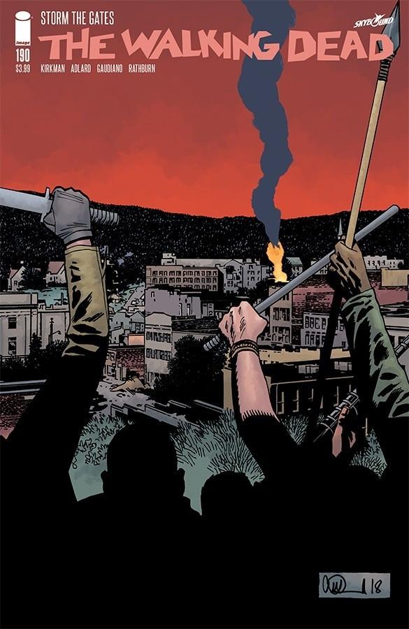 Couverture de Walking Dead (The) (2003) -190- Storm The Gates