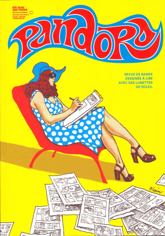 Couverture de Pandora (Casterman) -5- Pandora N°5