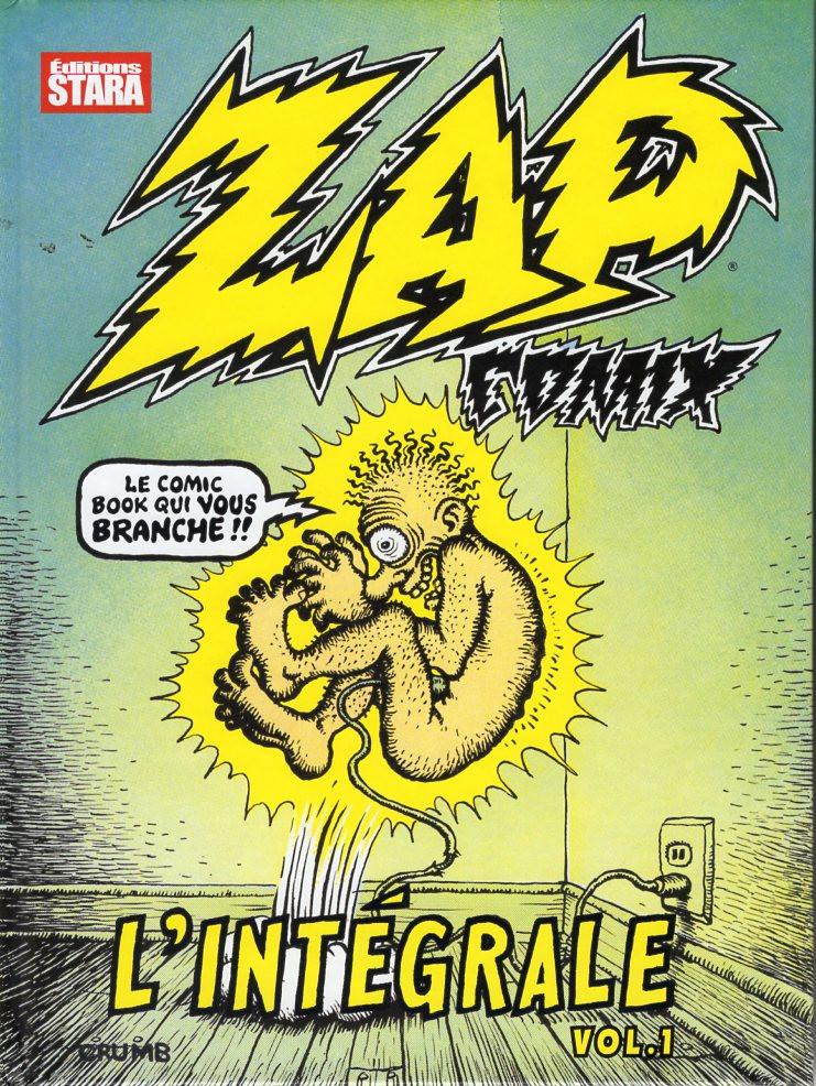 Couverture de Zap Comix -INT- Zap Comix - L'intégrale