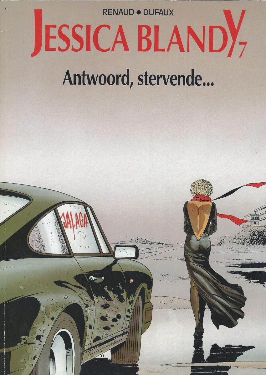 Couverture de Jessica Blandy (en néerlandais) -7- Antwoord, stervende...