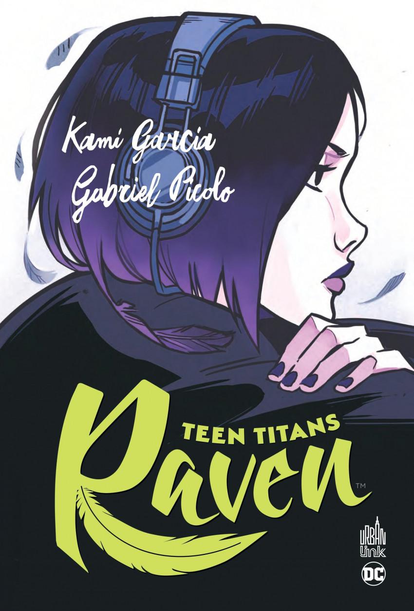 Couverture de Teen Titans - Raven - Teen Titans : Raven