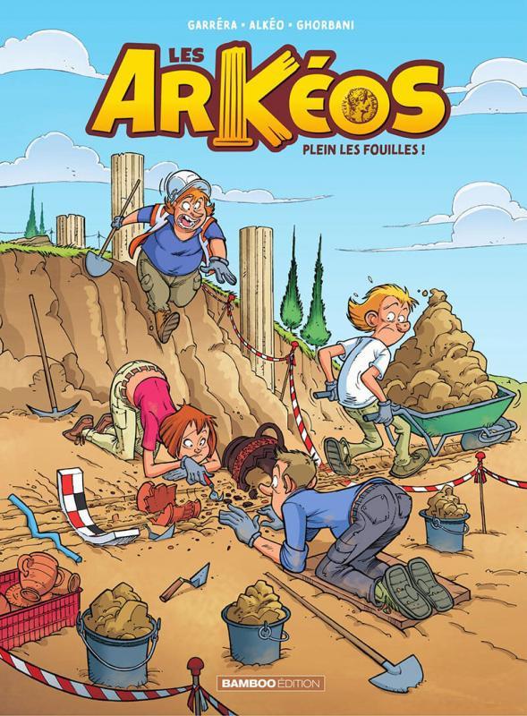Couverture de Les arKéos -1- Tome 1