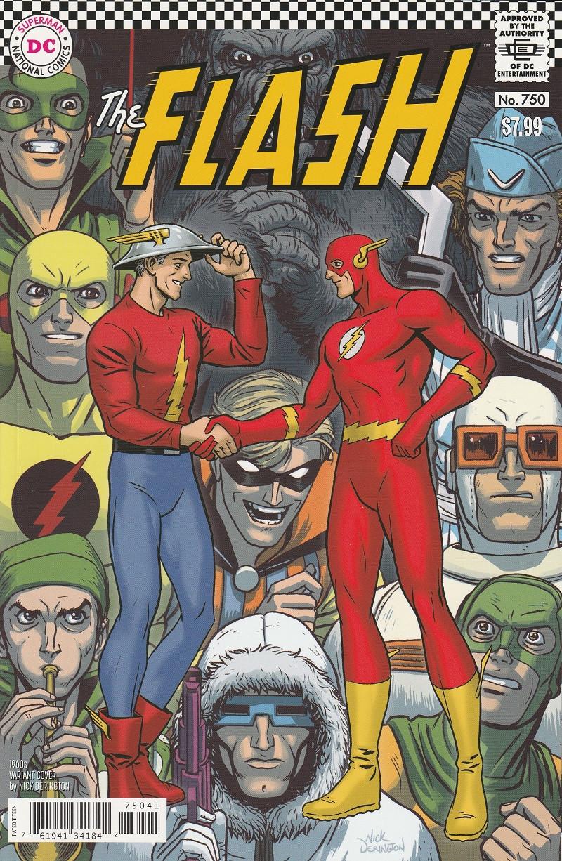 Couverture de The flash Vol.5-Rebirth (DC comics - 2016) -750VC- Special issue