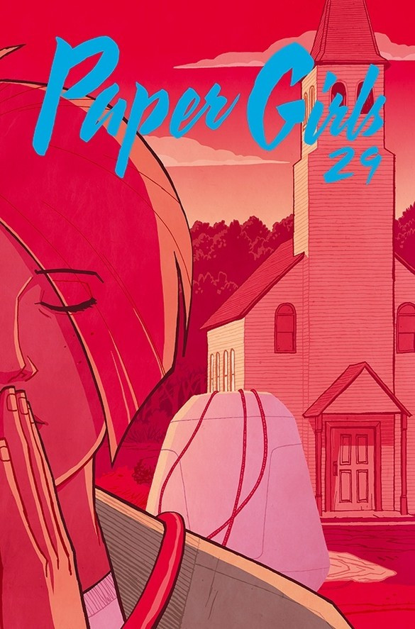 Couverture de Paper Girls (Image comics - 2015) -29- Paper Girls