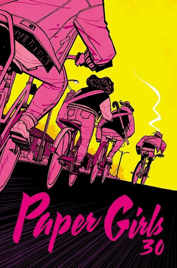 Couverture de Paper Girls (Image comics - 2015) -30- Paper Girls