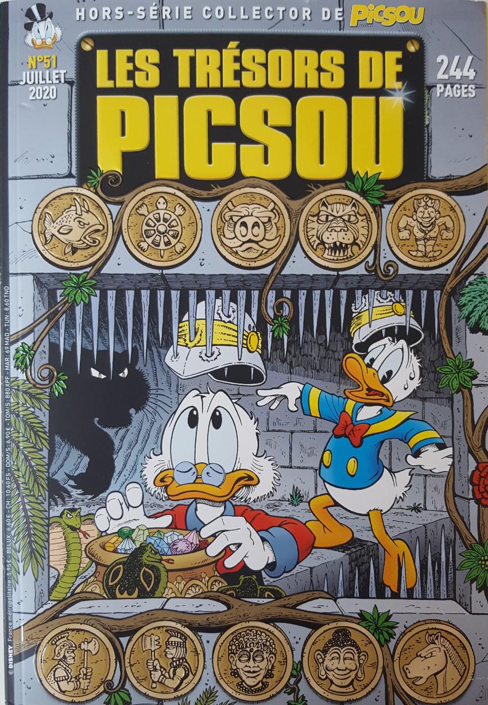 Couverture de Picsou Magazine Hors-Série -51- L'intégrale des histoires de Don Rosa, 8è partie (1995-1996)