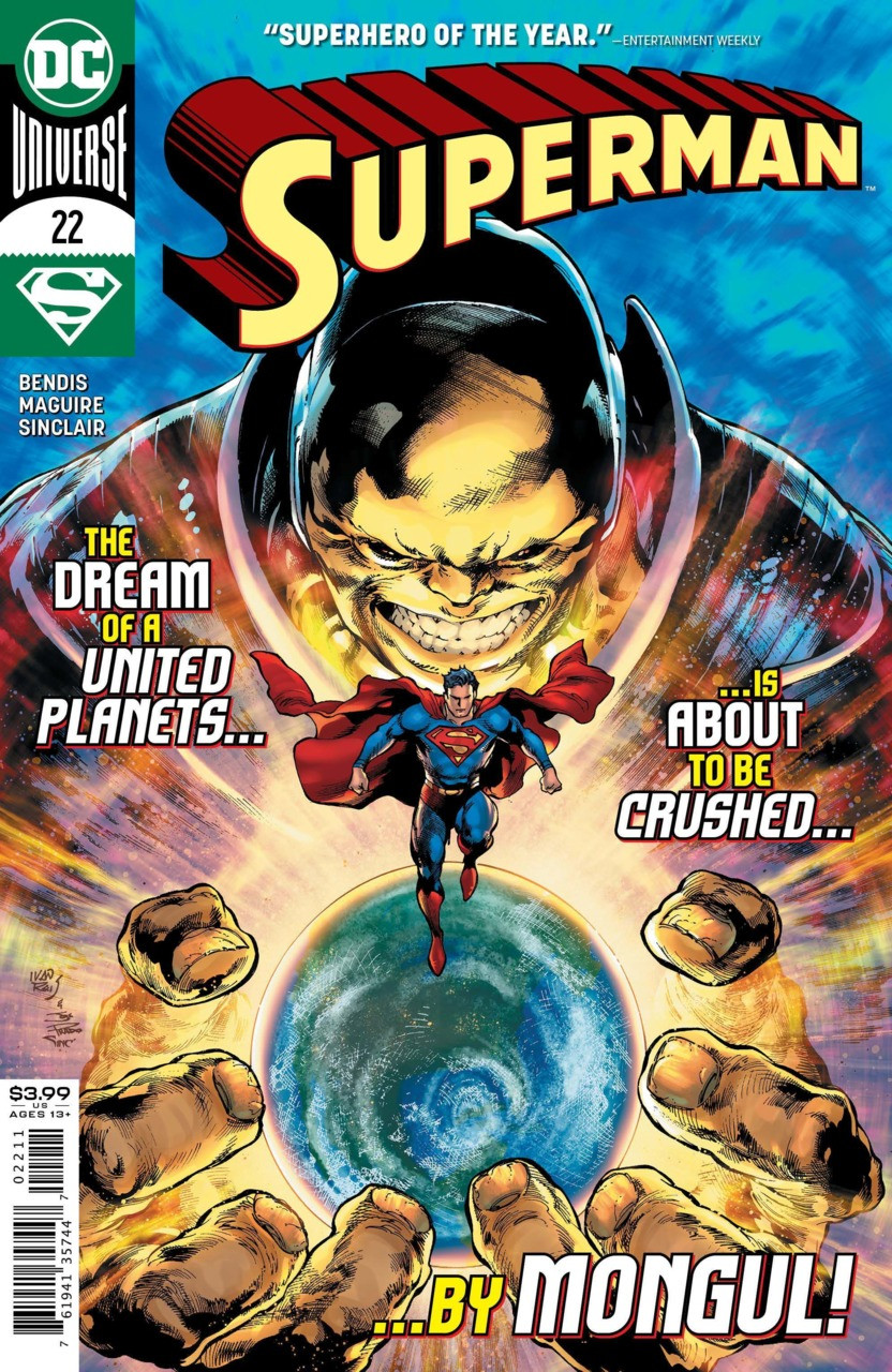 Couverture de Superman Vol.5 (DC Comics - 2018) -22- Truth - Finale