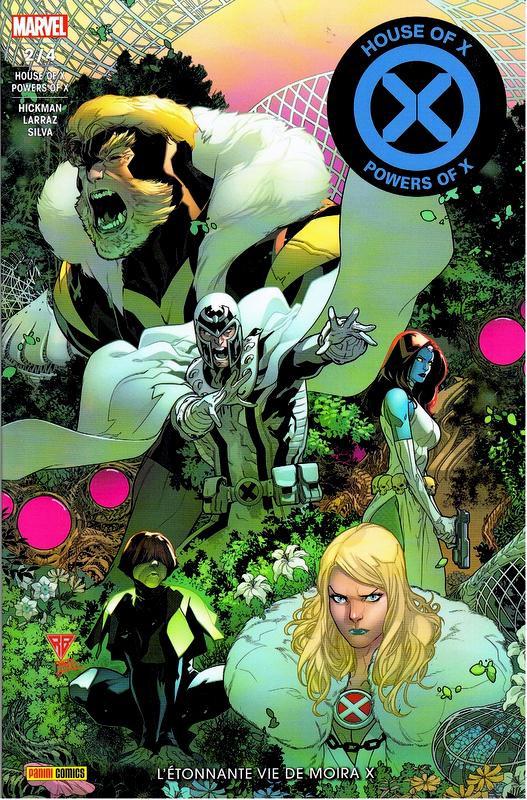 Couverture de House of X - Powers of X -2- L'Étonnante Vie de Moira X