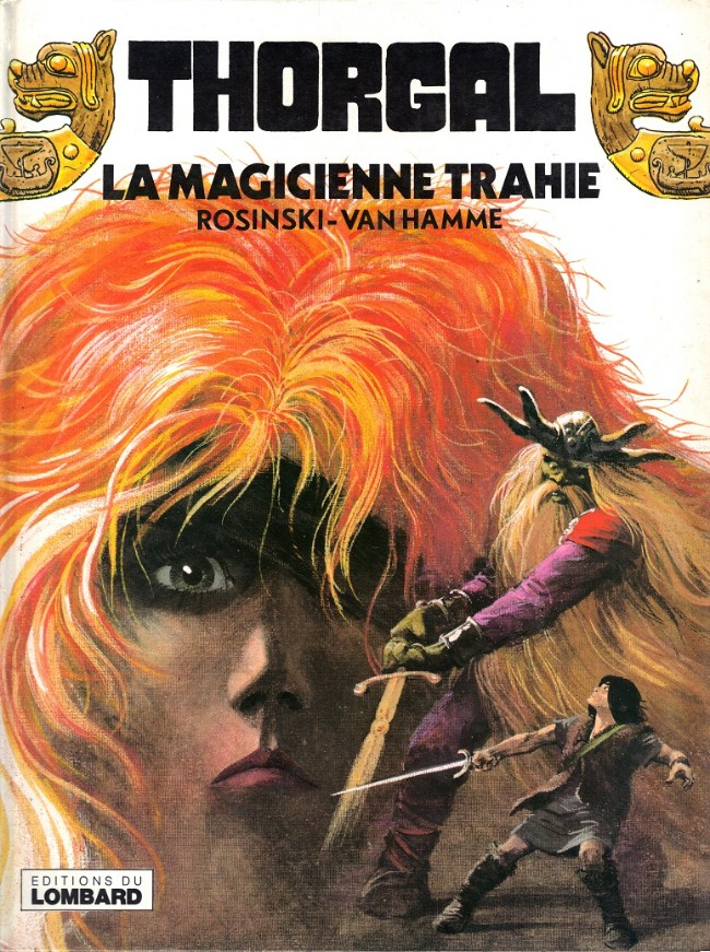 Couverture de Thorgal -1- La Magicienne trahie