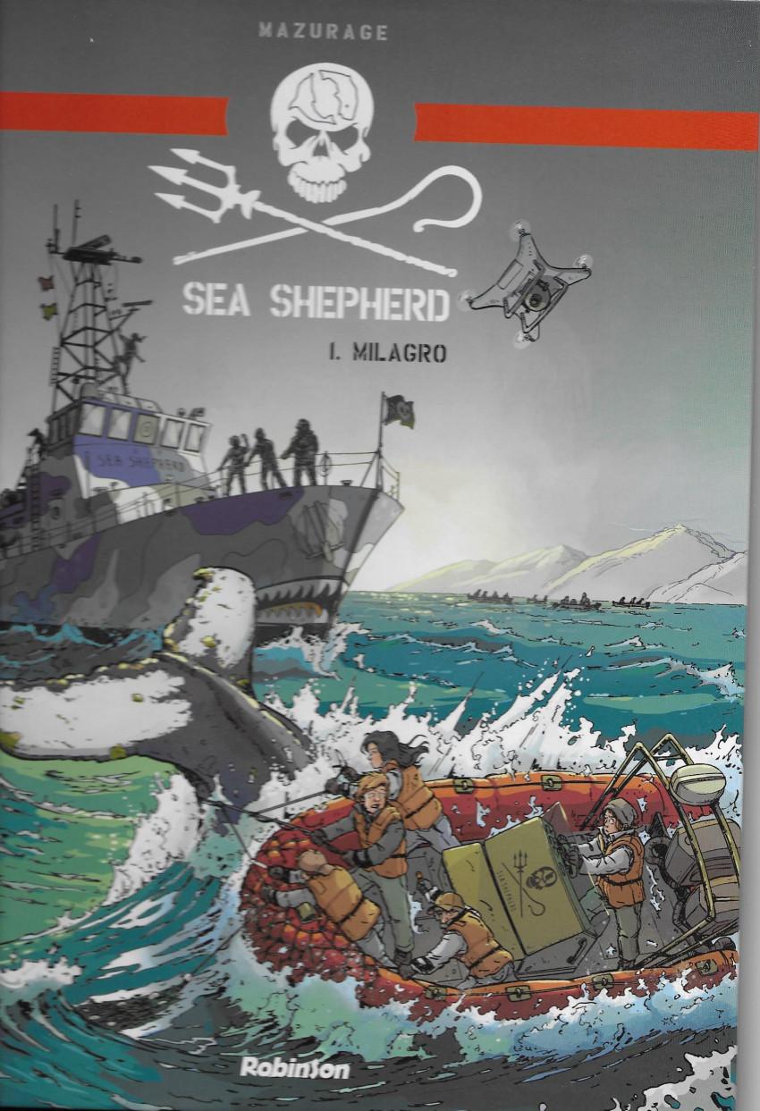 Couverture de Sea Shepherd -1- Milagro