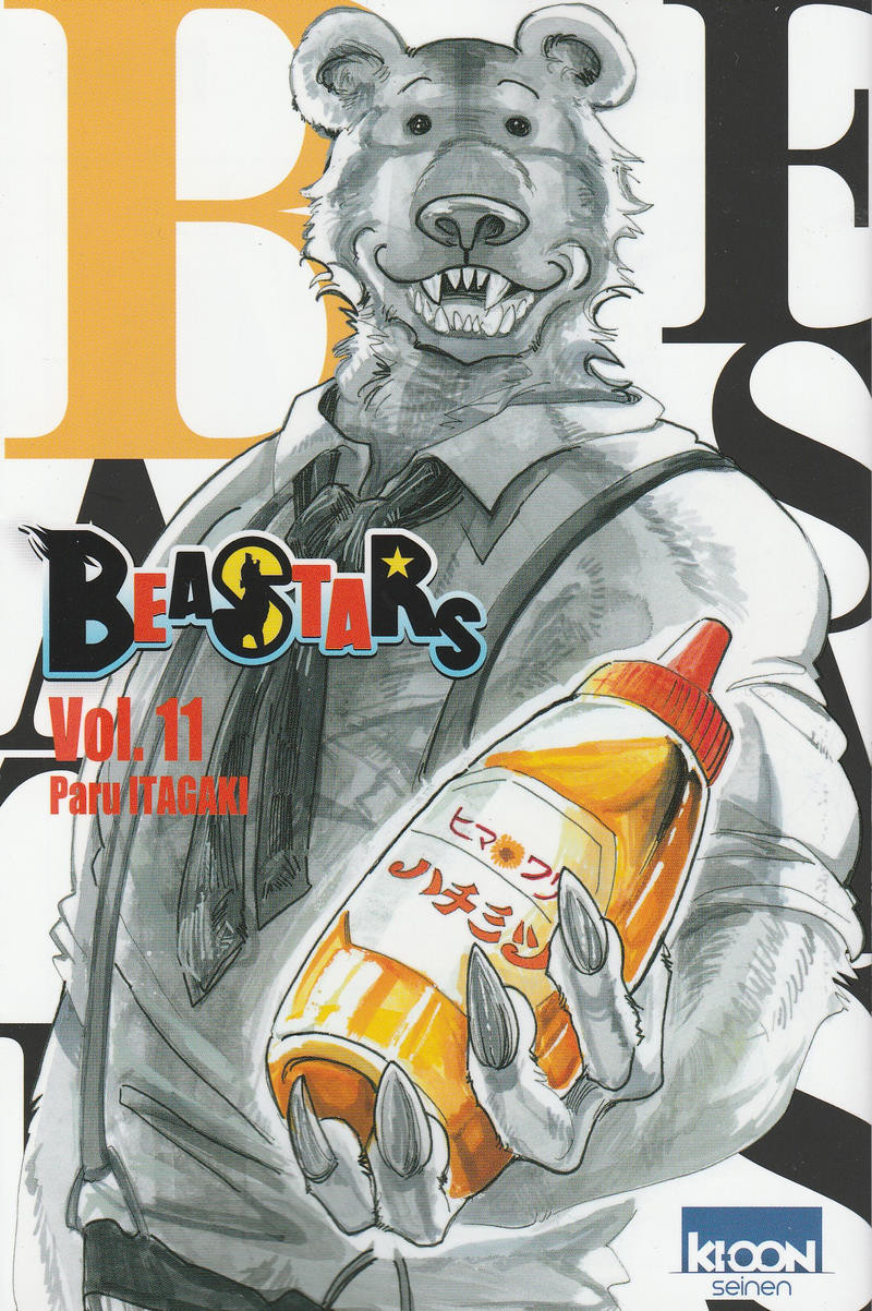 Couverture de Beastars -11- Vol. 11