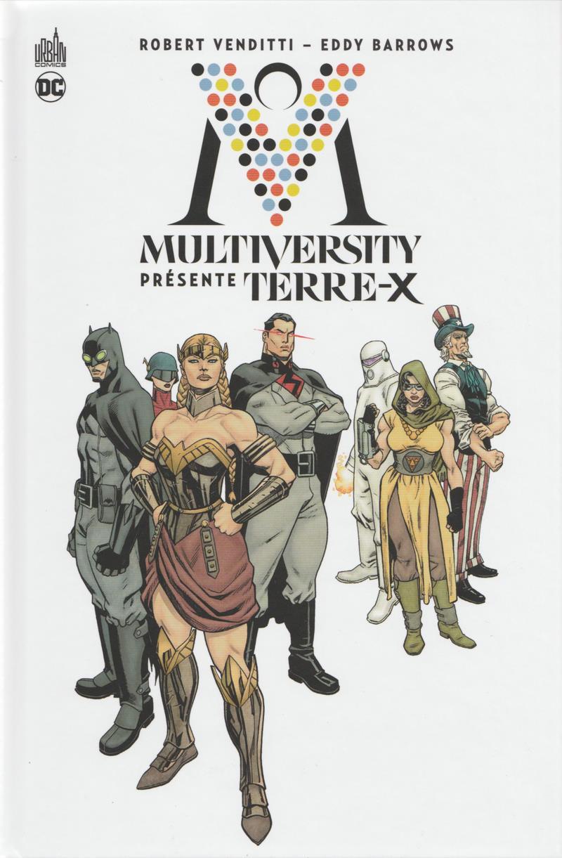 Couverture de Multiversity présente Terre-X