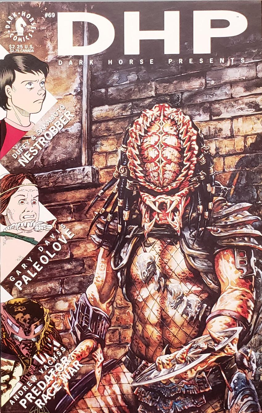 Couverture de Dark Horse Presents (1986) -69- Dark Horse Presents #69