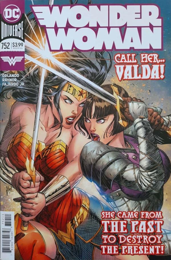 Couverture de Wonder Woman Vol.1 (DC Comics - 1942) -752- The Iron Maiden - Part 1