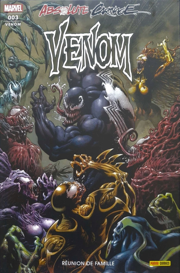 Couverture de Venom (3e série, 2020) -3- Réunion De Famille