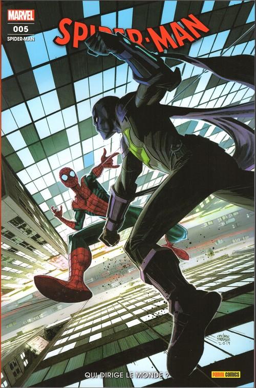 Couverture de Spider-Man (Marvel France 8e série - 2020)  -5- Qui dirige la monde ?