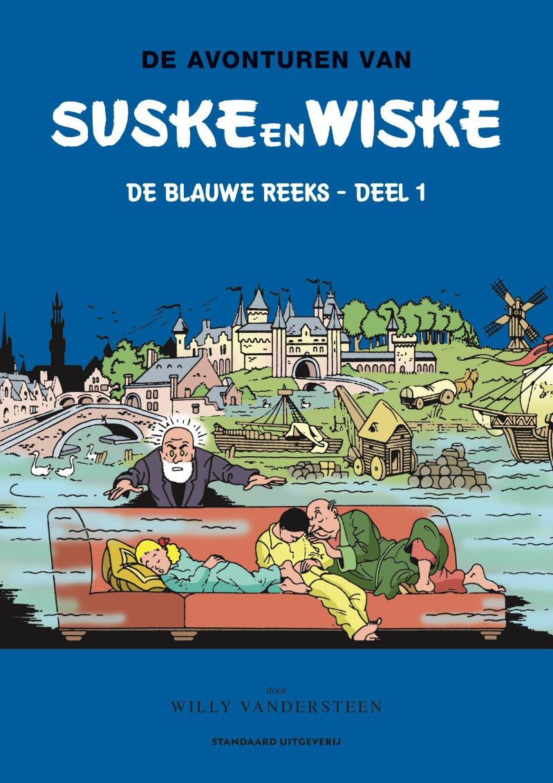 Couverture de Suske en Wiske Klassiek - Blauwe reeks -INT1- Deel 1