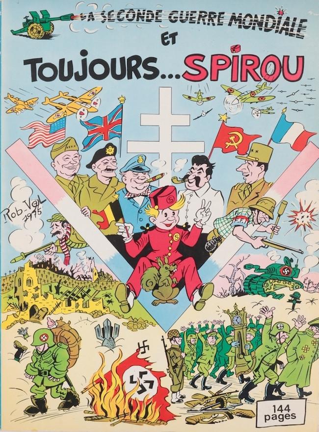 Couverture de Spirou et Fantasio -2- (Divers) -4Deli- La seconde guerre mondiale et toujours Spirou