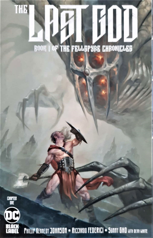 Couverture de Last God (The) (DC comics - 2019) -1- Chapter One