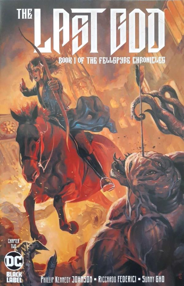 Couverture de Last God (The) (DC comics - 2019) -2- Chapter Two