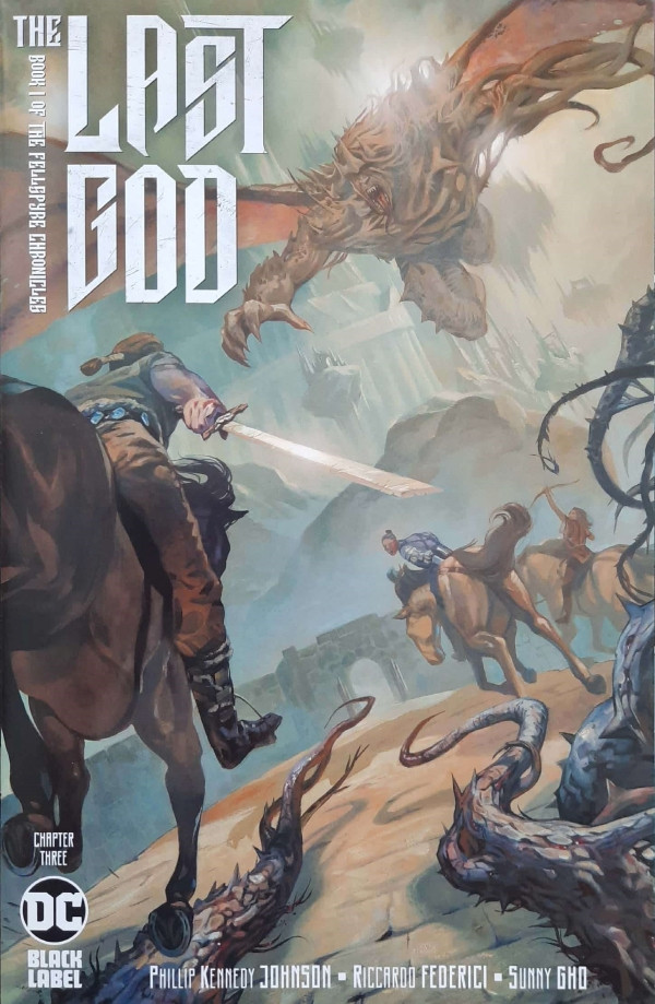 Couverture de Last God (The) (DC comics - 2019) -3- Chapter Three