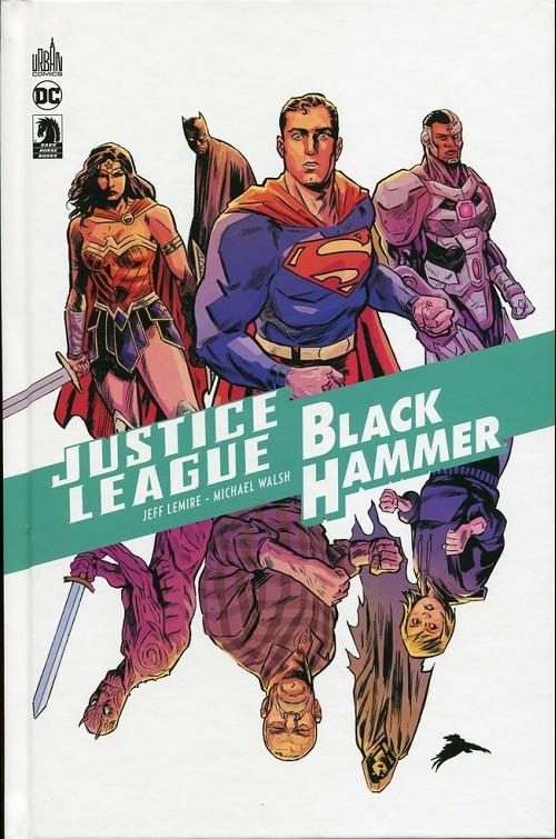 Couverture de Black Hammer -HS3- Justice League / Black Hammer