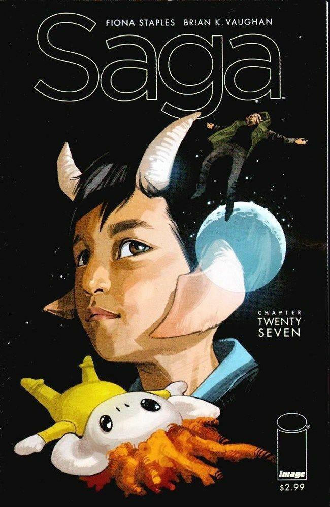 Couverture de Saga (Image comics - 2012) -27- Chapter twenty seven