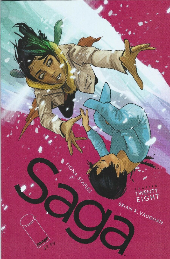 Couverture de Saga (Image comics - 2012) -28- Chapter Twenty eight