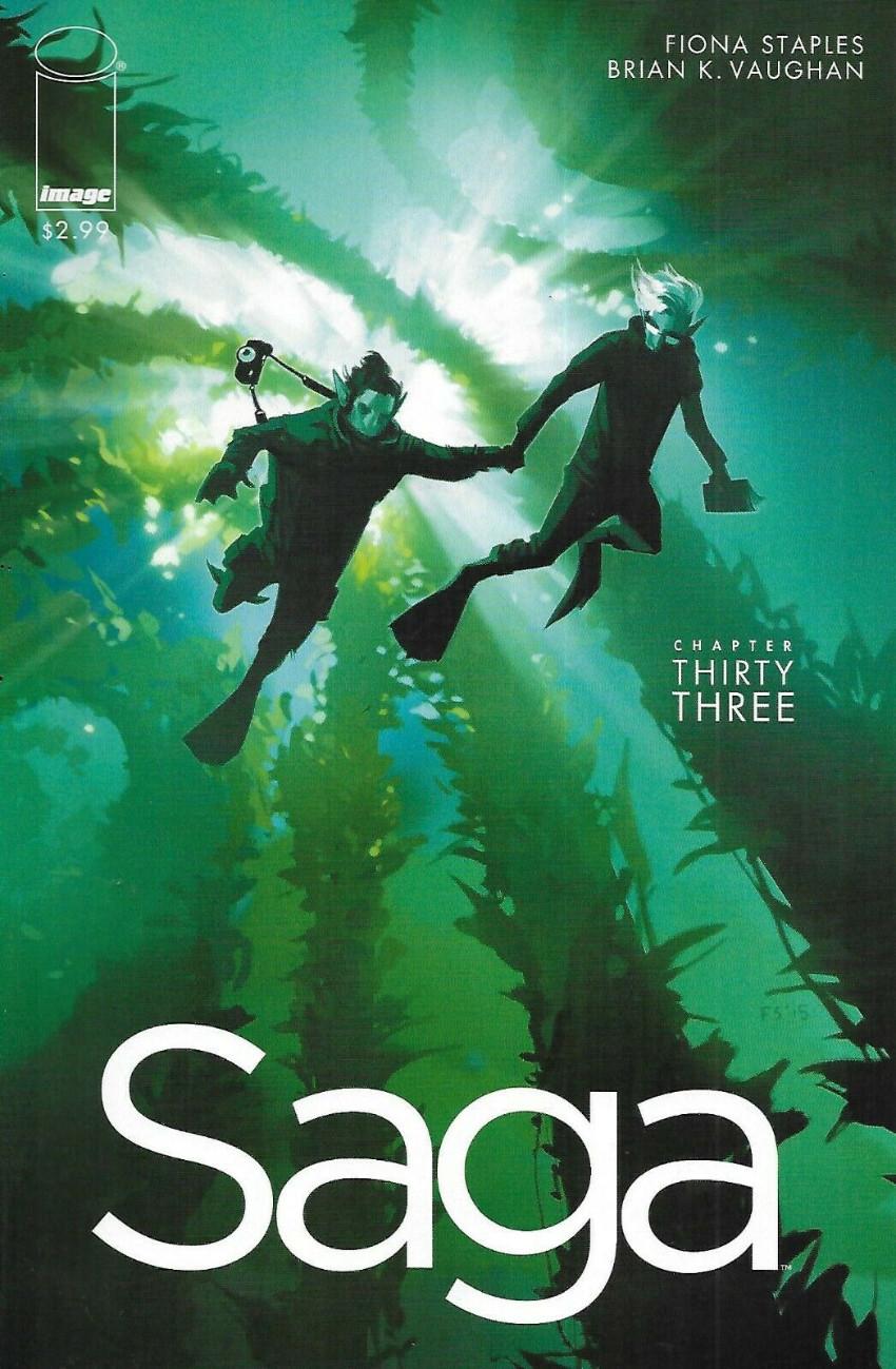 Couverture de Saga (Image comics - 2012) -33- Chapter thirty three