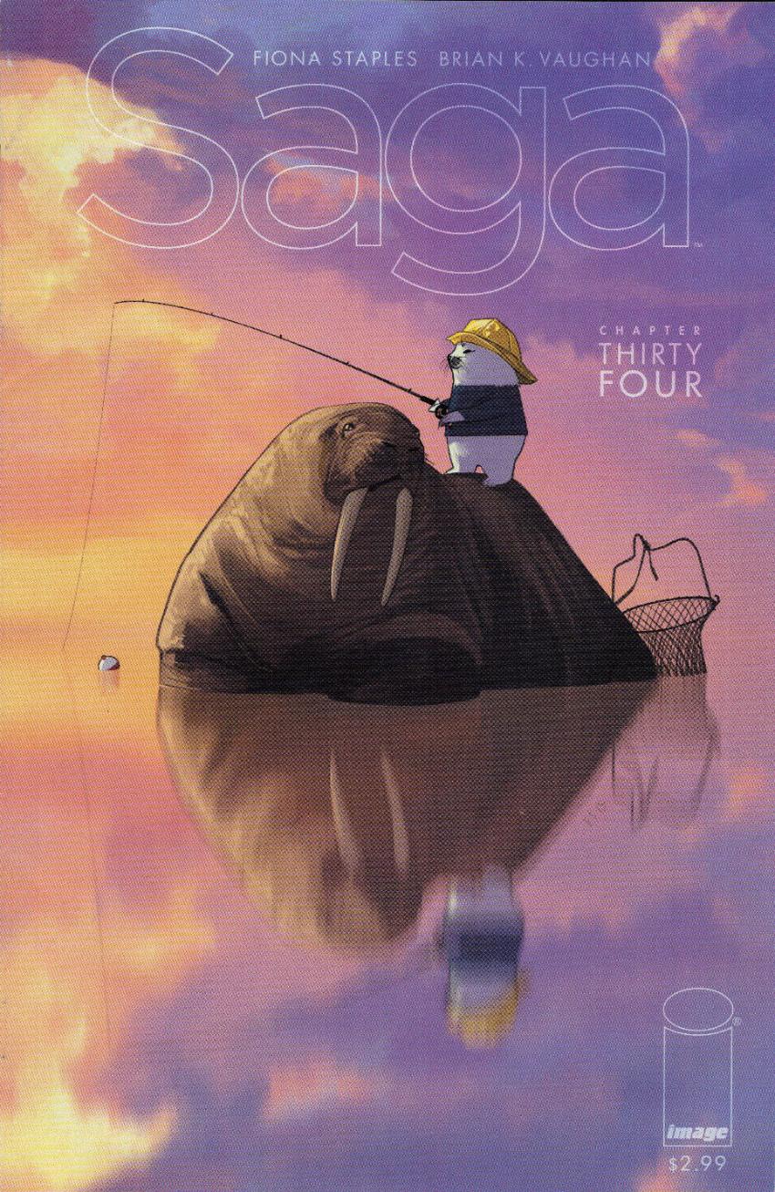 Couverture de Saga (Image comics - 2012) -34- Chapter thirty four