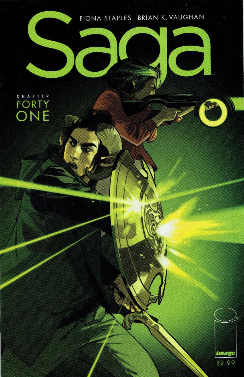 Couverture de Saga (Image comics - 2012) -41- Chapter forty one