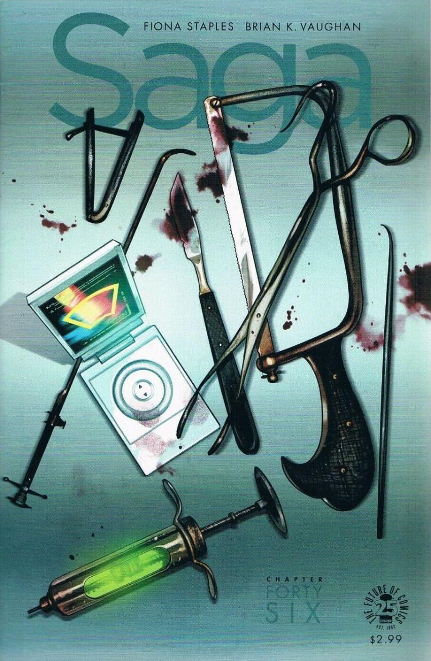 Couverture de Saga (Image comics - 2012) -46- Chapter Forty six